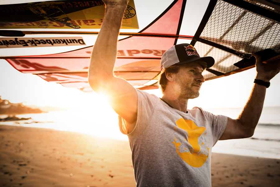 Bjšrn Dunkerbeck in Gran Canaria, Spain on May 7th 2015 // Manuel Ferrigato / Red Bull Content Pool