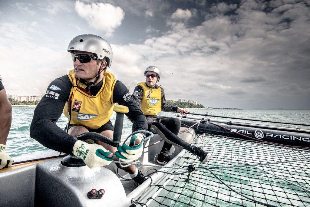© Tristan Stedman-SAP Extreme Sailing Team