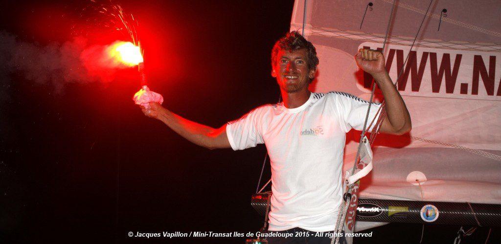 Photo of Frédéric Denis has won the Mini Transat 2015!