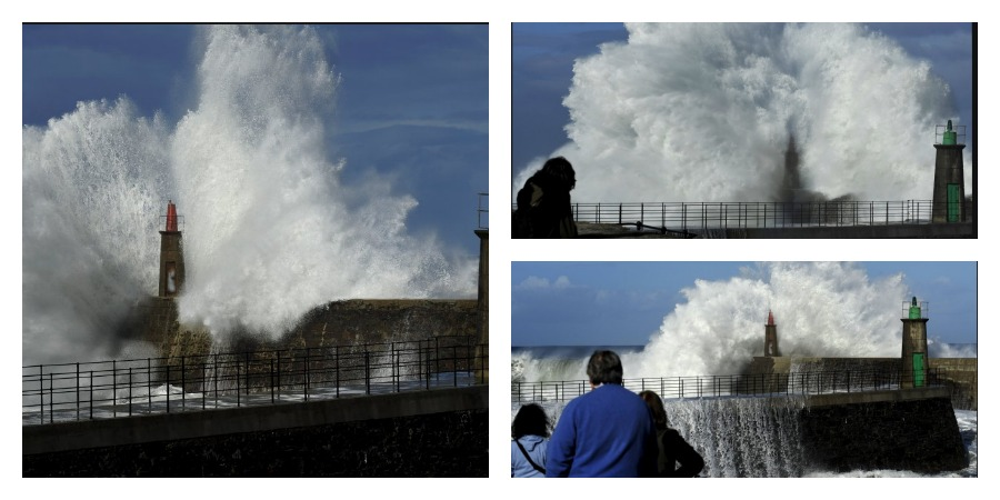 Photo of The incredible show of the highest waves in Europe