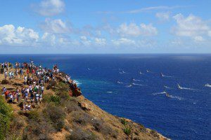 Hundreds of spectators on land and sea will be watching the start of the 8th RORC Caribbean 600