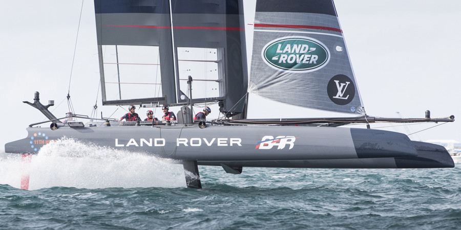 Photo of Ben Ainslie triumphs at the LVACWS Oman. VIDEO