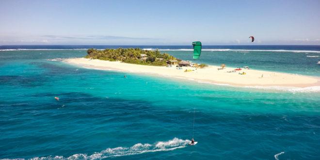 Aitutaki, Cook Islands. Best Kitesurfing Island in the world