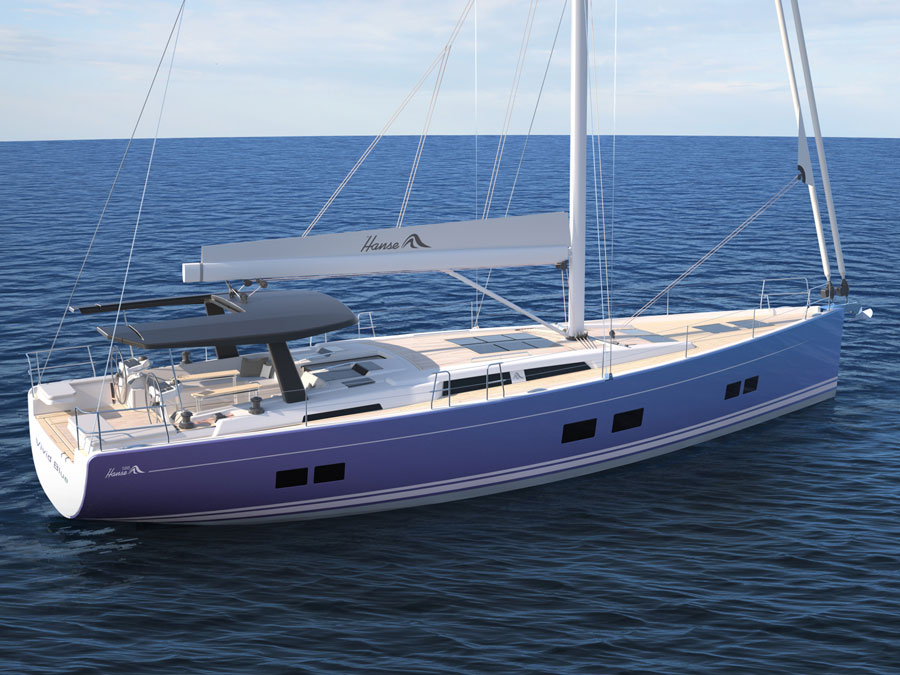 A Sailboat In Pictures Discovering The New Hanse 588
