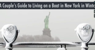 A Couple's Guide to Living on a Sailboat in New York in Winter
