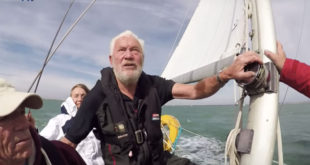 Happy Birthday Sir Robin Knox Johnston!