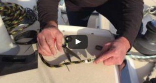 Expert Advice: How to Install and Remove Sailboat Halyards. VIDEO