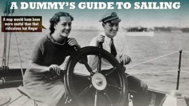 Photo of The ultimate Dummy's Guide to Sailing. INFOGRAPHIC