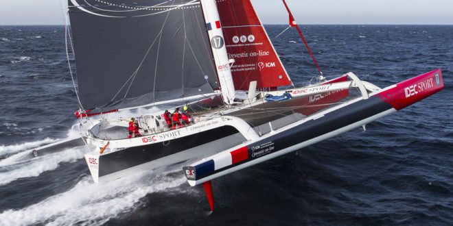 New Equator Record for IDEC Sport and Francis Joyon!