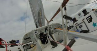 Conrad Colman speaks about his dismasting and battle to finish the Vendée Globe
