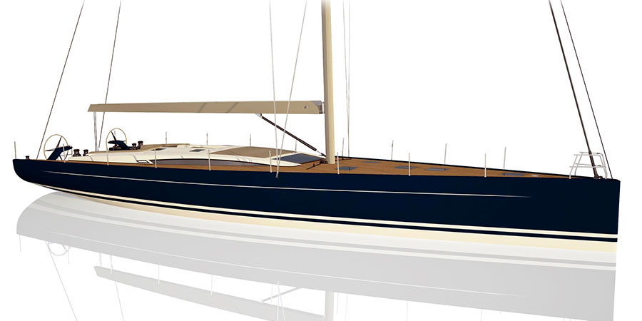 "Photo of Vismara V67 Mills, a contemporary ""Italian style"" sailboat"