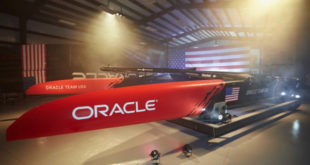 Oracle Team USA launched America's Cup Class yacht
