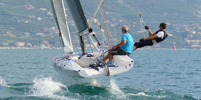 Quant 23, a foiling sailboat we love in 7m range. VIDEO