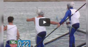 From the Vault: Sailors Talking Dirty during 18 foot skiff races. VIDEO