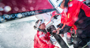 Top female sailors Carolijn Brouwer and Marie Riou join Dongfeng Race Team for Volvo Ocean Race