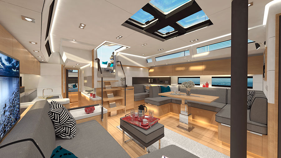 Amel unveils the new Amel 50, an intelligent sailboat that