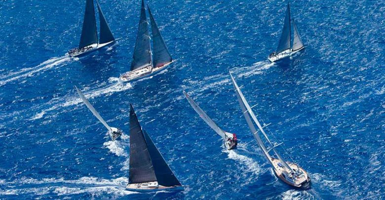 Photo of Lloyd Thornburg and Peter Cunningham: the Great Challenge of Les Voiles de St. Barth