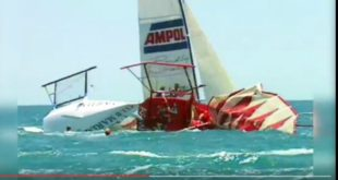 SAILINGCRASH: 3 Crazy, Stupid, Collisions. VIDEO