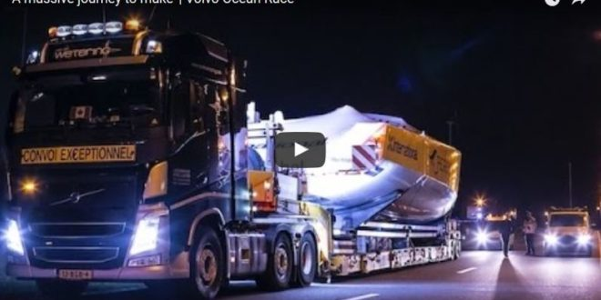 How to Transport a Volvo Ocean 65 from Italy to Lisbon… by Truck!