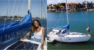 Sailing Nandji – Ep 32, Installing flexible solar panels