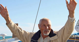 80-year-old Bulgarian sailor Vasil Kurtev completes his Trip around the World