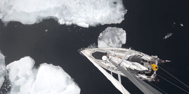 Sailing to 81 degrees North, the last frontier before the North Pole. VIDEO