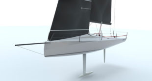Ben Rogerson announces the new carbon BR31 designed for HP30 class racing