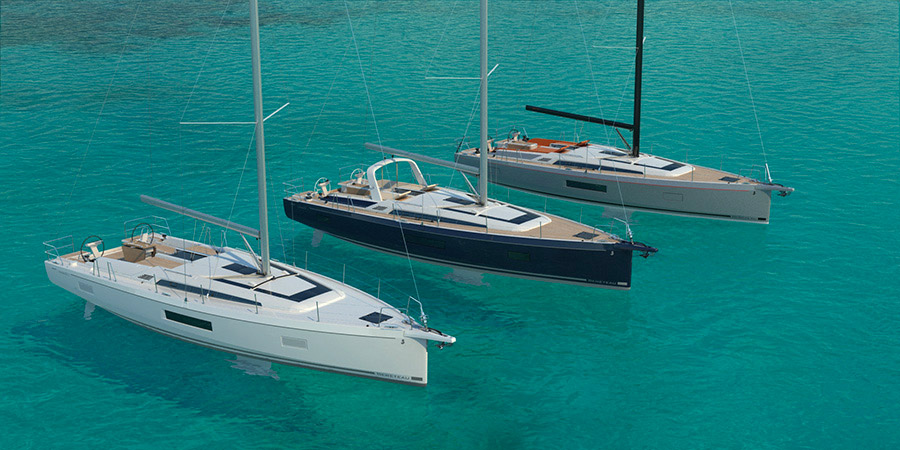 Unveiled the new Beneteau Oceanis 51 1: 3 boats in    one!