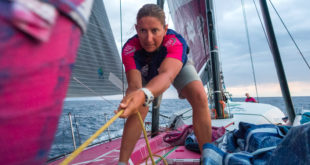 Volvo Ocean Race. Dee Caffari will lead a youth team with a sustainability message