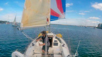sailing singlehanded