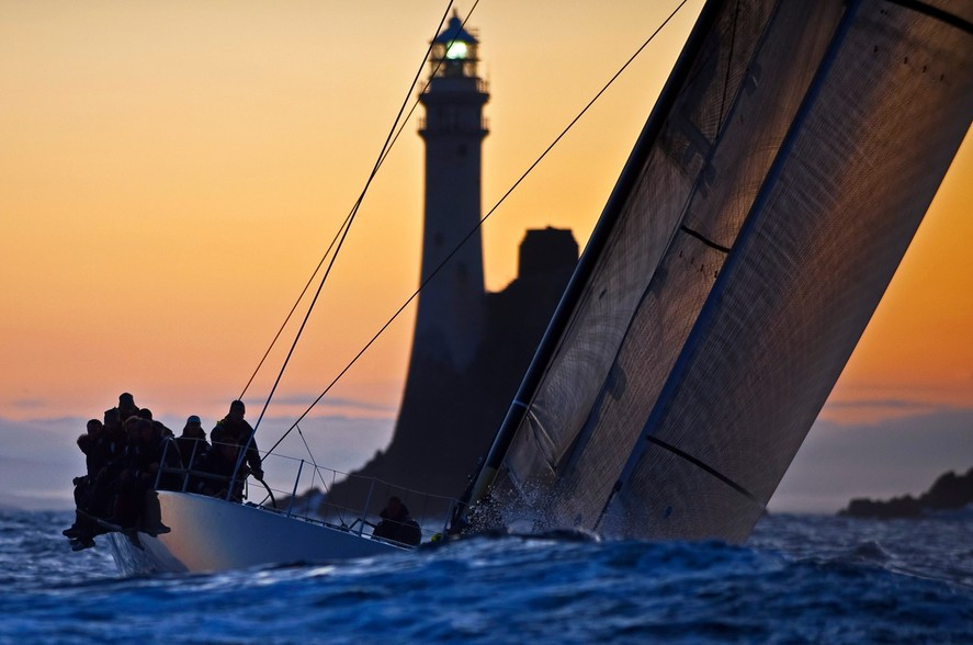 Night Sailing fastnet