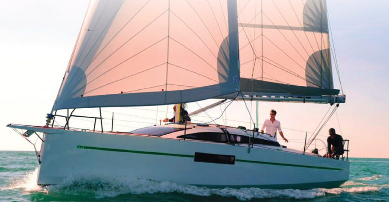 Photo of SAILBOAT REVIEW. Sailing the RM 970, as Fun as a Go-Kart