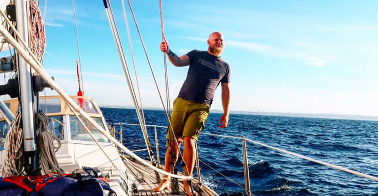 "Photo of Matt and Paige: ""Why We Choose to Sail Around the World"""