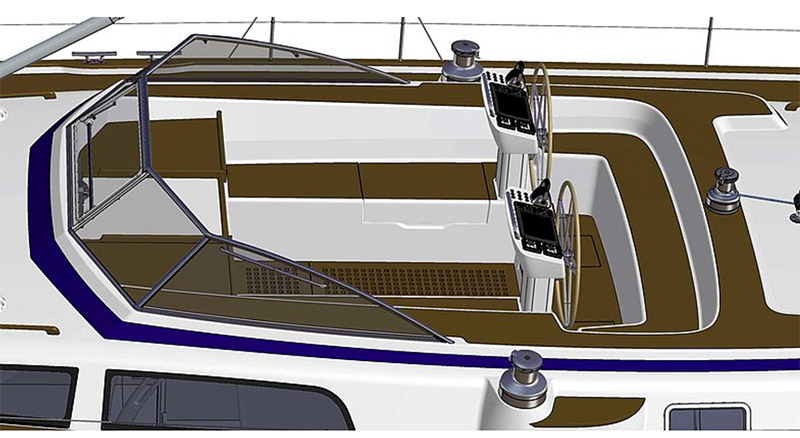 The new Ambitious Hallberg-Rassy 57 will be Ready in August