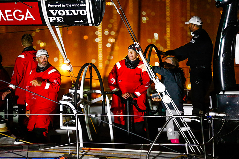Sun Hung Kai : Sun hung kai scallywag has won leg of the volvo ocean race