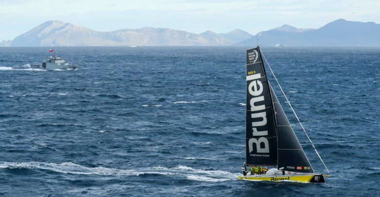 Photo of Team Brunel leads fleet past Cape Horn and out of the Southern Ocean