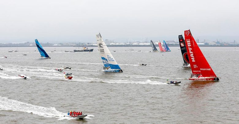 volvo ocean race final sprint
