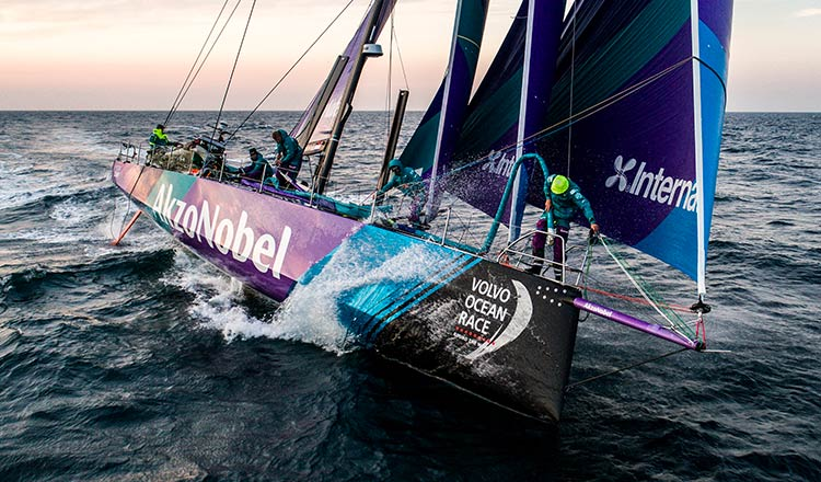 volvo ocean race fleet