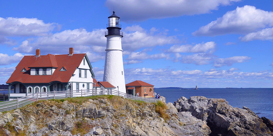 7 Lighthouses in USA Portland head