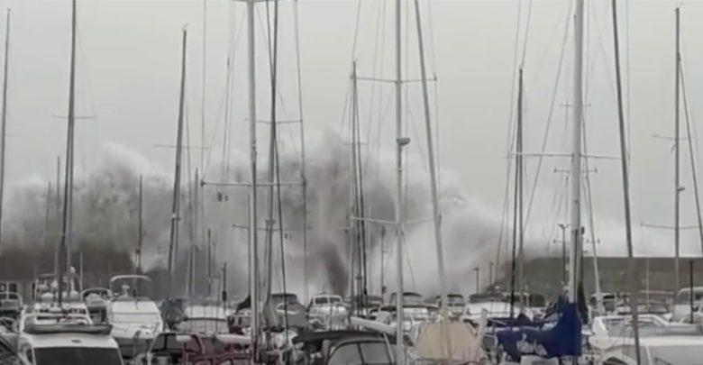 Storm Destroys Hundreds of Yachts