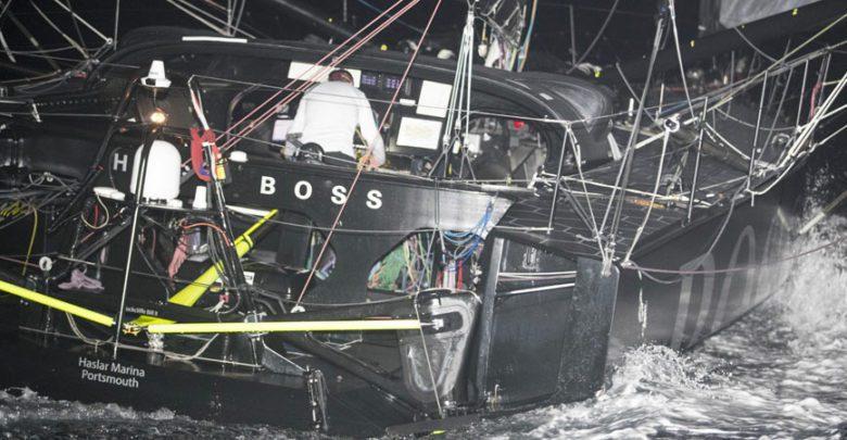 Alex Thomson damage
