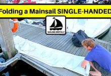 Photo of Sailing Britaly – How to Fold a Mainsail SINGLE-HANDED