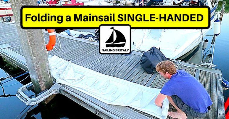 fold a mainsail