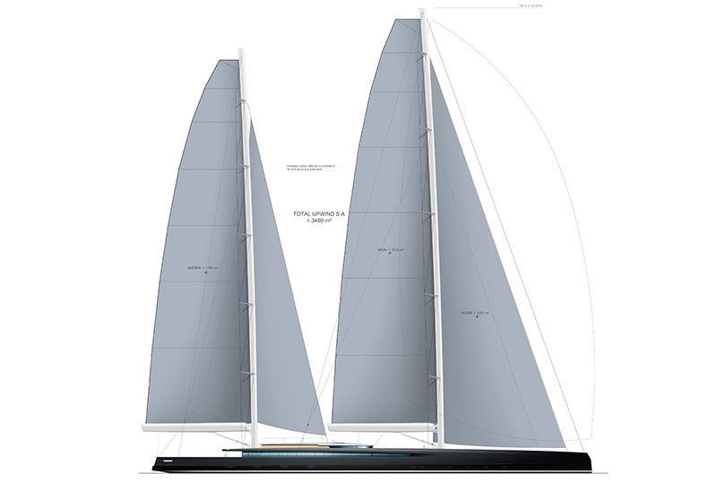 sy300 sailplan