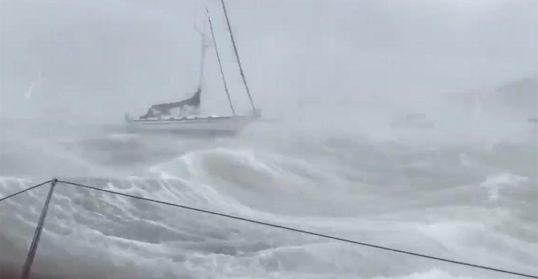 sailboat storm