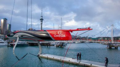 Photo of Emirates Team New Zealand Launch Their First AC75