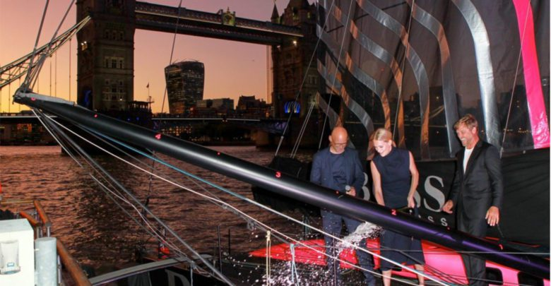 Photo of Alex Thomson's New HUGO BOSS Yacht Launched In London